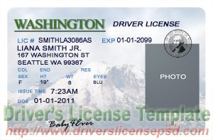 drivers license in washington dc